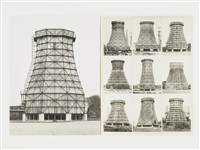 kühltürme (in 2 parts) by bernd and hilla becher