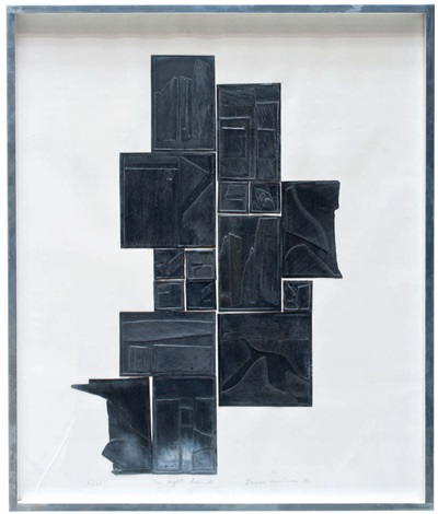 the night sound by louise nevelson
