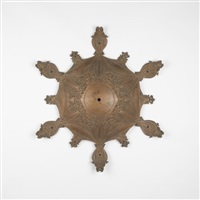ceiling escutcheon by dankmar adler and louis sullivan