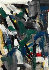 ohne titel by jean paul riopelle