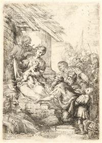 die anbetung der könige by bartolomeo biscaino