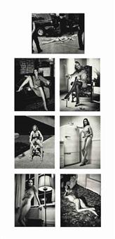 cyberwomen (7 works) by helmut newton