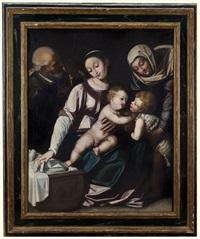 sacra famiglia by scipione pulzone