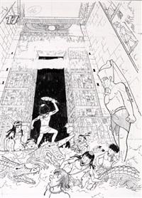 papyrus by lucien de gieter