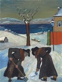 schnee über nacht by marianne werefkin
