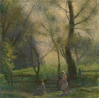willows by tatiana yablonskaya