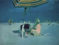 untitled - umbrella by isca greenfield-sanders