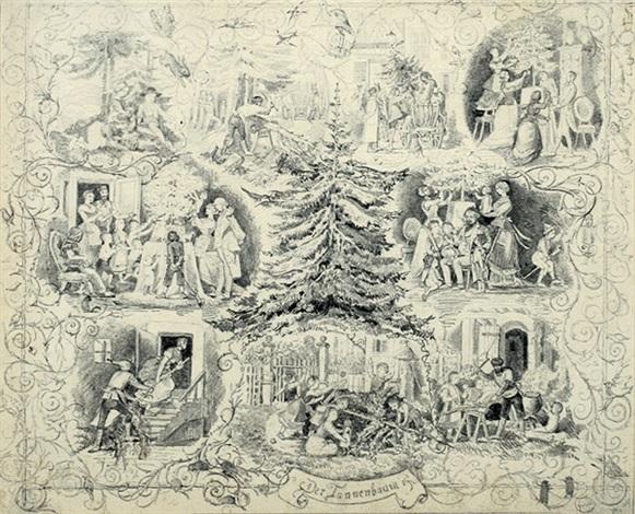 Andersen Der Tannenbaum.Der Tannenbaum 9 Szenen Um Die Darstellung Des Ausgewachsenen