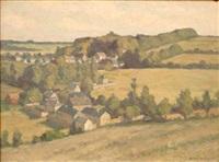 paysage by francois henri morisset