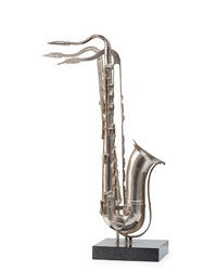 untitled (saxophone) by arman