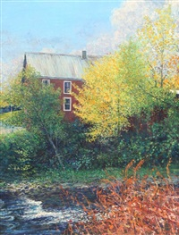 vermont farmhouse by wally ames