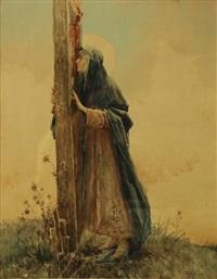 maddalena ai piedi della croce by salvatore postiglione