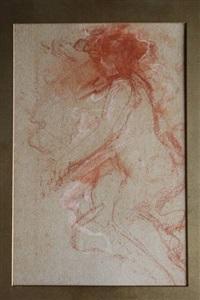 figuur, studie by antonio mancini