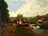 the north lock by john constable