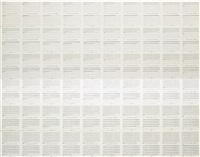untitled (portfolio 3 - part a) (in 60 parts) by hanne darboven