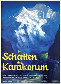 im schatten des karakorum (poster) by ernst litter