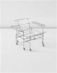 rolling armchair by paul rudolph