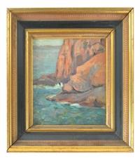 rocky coastline by jean puy