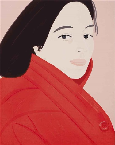 brisk day one print by alex katz