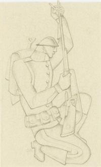 soldat by gösta (gan) adrian-nilsson