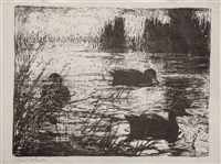 black ducks by frank weston benson