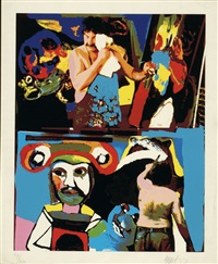 thursday by henk van der vet and karel appel