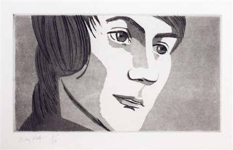 from: june eckman's class (4 works) by alex katz