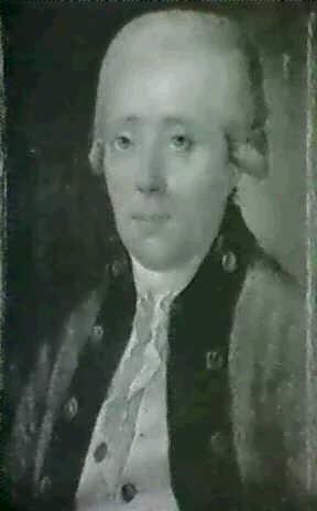 portraet af von jahren, livlaege              for katharina d. ii by virgilius erichsen