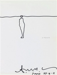 personnage by antony gormley