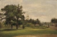 village green by george frank higgins