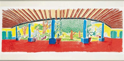 artwork by david hockney