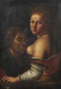 pero rettet ihren vater vom hungertod (caritas romana) by georg pencz