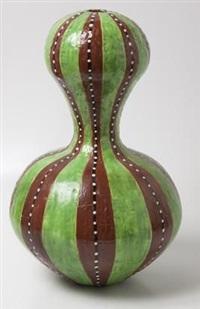 a calabash-form vase by barbara jackson