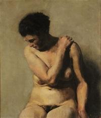 nudo femminile by carlo paolo agazzi