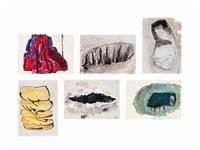 (i)-(vi) untitled (6 works) by phyllida barlow