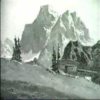 der monte pelmo-val fiorentino by georg johann arnold