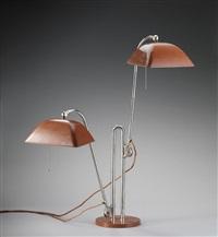 tischlampe mit doppelarm (pair) by christian dell