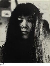 portrait of yayoi kusama (+ 5 others; 6 works) by gerard fieret
