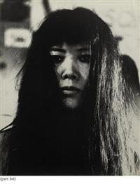 portrait of yayoi kusama (+ 5 others; 6 works) by gerard fieret