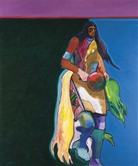 santa clara indian corn dancer by john nieto