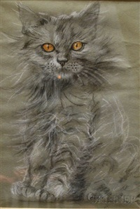 tabby (+ 2 others; 3 works) by gladys emerson cook