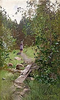 löfskog by alfred thörne