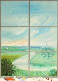 landscape by niels viggo bentzon