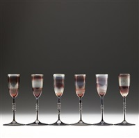 cordial glasses (set of 6) by karl g. koepping
