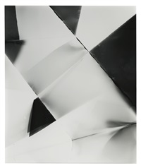 fold (45 degree directional light source), december 22nd, 2006 valencia, california, ilford multigrade fiber iv by walead beshty