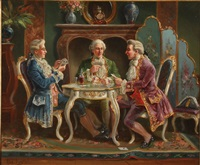 a game of cards by alexander austen