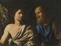 st peter delivered by an angel by michelangelo merisi da caravaggio