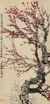 red plum blossom by xu beihong