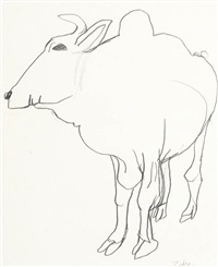 zebu by brett whiteley