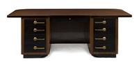 pedestal desk by stow davis